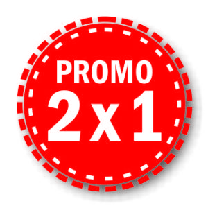 Promo 2 x 1